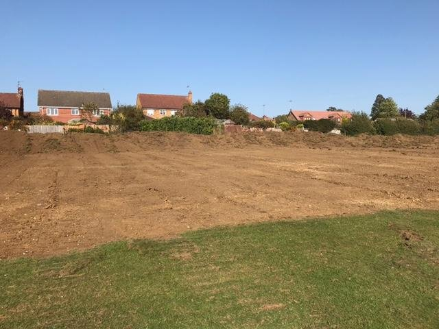 A new state of the art 600,000 all-weather sports pitch is fast taking shape at a Market Harborough secondary school.