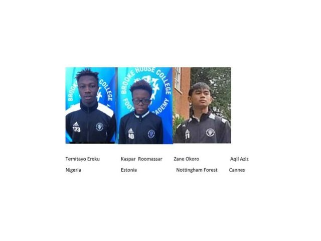A string of outstanding young footballers at Brooke House College in Market Harborough are set to play for their countries this month.