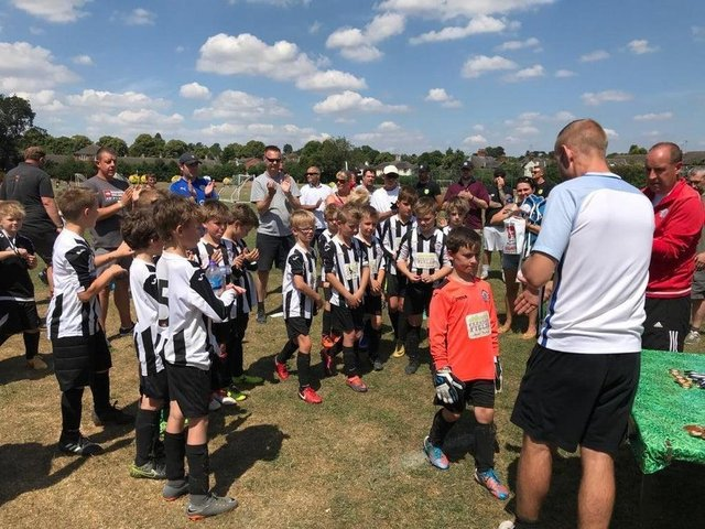 """The people who run Borough Alliance Junior Football Club said they are """"thrilled"""" after holding """"very positive talks"""" with Harborough District Council about their immediate future."""