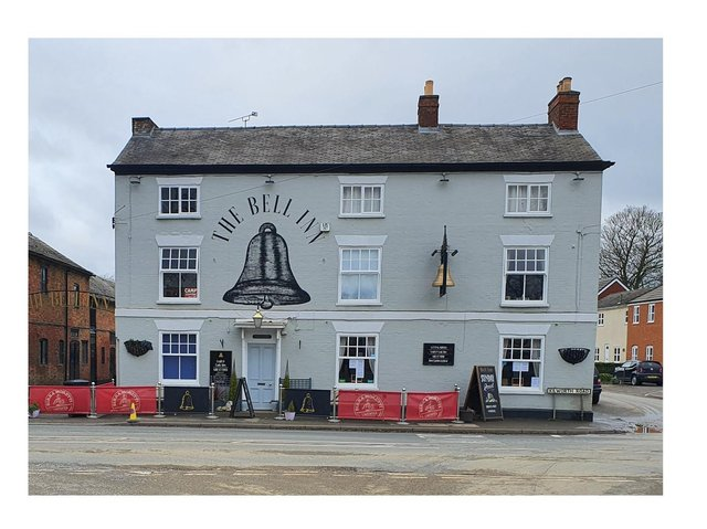 The Bell Inn is launching a huge fundraising mission to create a stunning new beer garden.