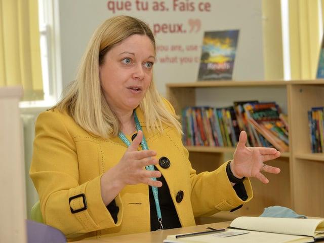 Assistant principal Caroline Bowden. PICTURE: ANDREW CARPENTER