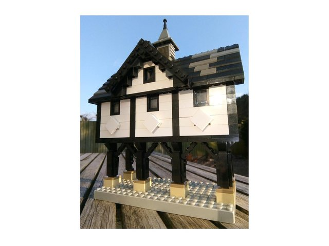 Market Harborough architect Tark Millican has put his time lockdown to good use – by building a brilliant Lego model of the town's famous Old Grammar School.