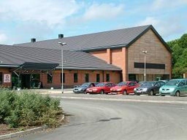 Lutterworth Sports Centre.