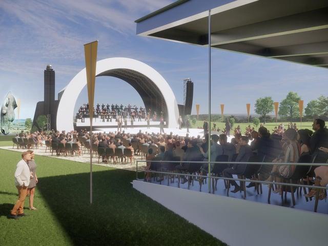 Artist Impression of potential designs for NHO 2021 Summer Festival