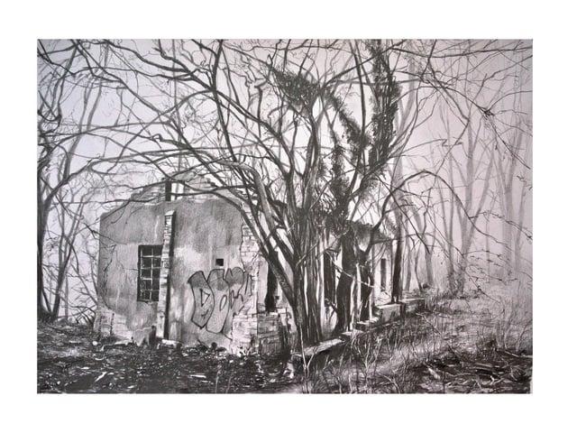 Sulby pump house by Glenn Badham