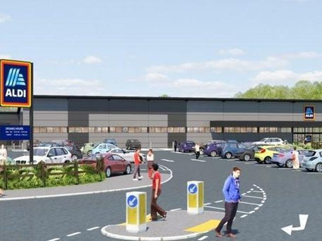 Aldi has got the go-aheadto build a new 5 million superstore on the edge of Lutterworth  and create 40 jobs.