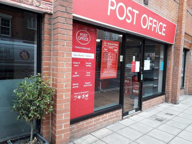 A new post office opened in Market Harborough town centre on Wednesday June 10.