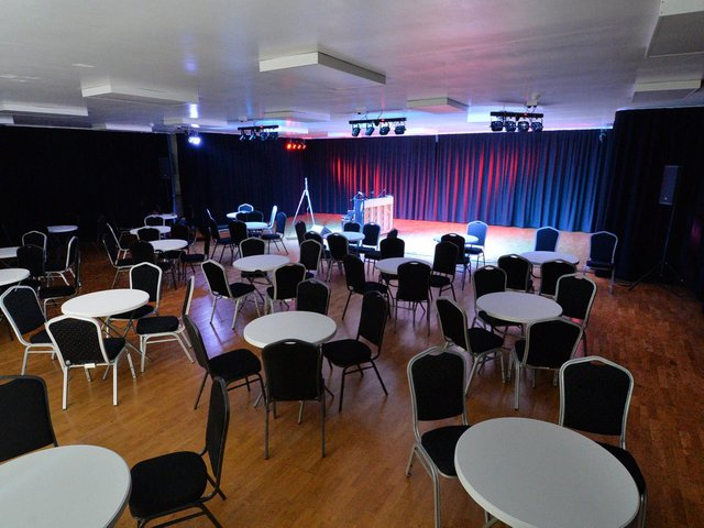 Launch night at Hall Park Theatre near Lutterworth. PICTURE: ANDREW CARPENTER