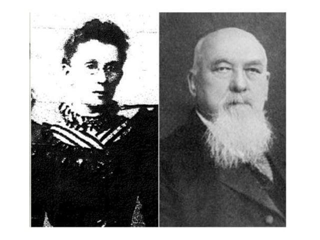 Frances Deacon and Samuel Swinfen Burdett.