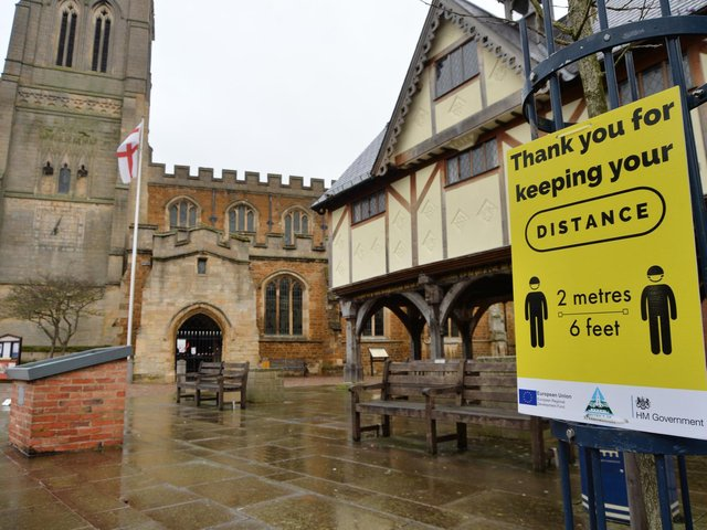 Leicestershire's public health chief is urging people to be cautious as Harborough prepares to reopen on Monday (April 12).