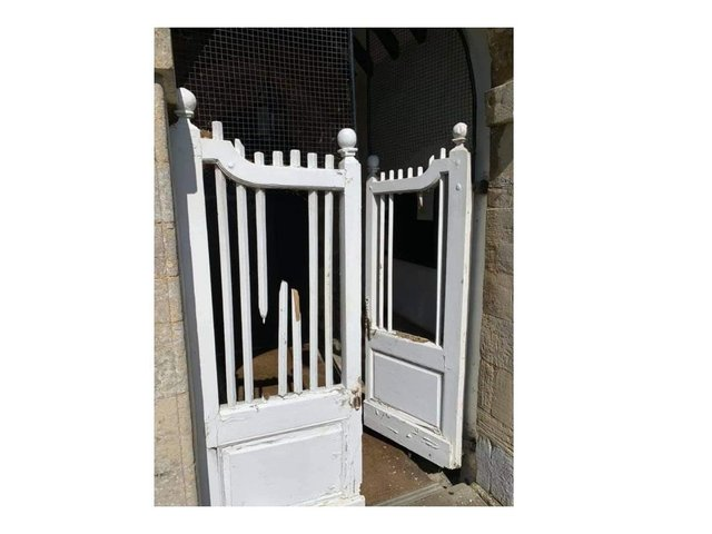 Vandals destroyed some of the slats in the ornate, much-loved white gates at the Church of England place of worship in Medbourne, near Market Harborough.