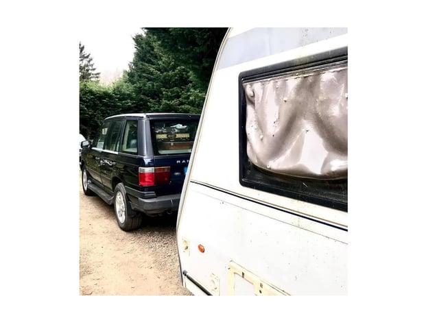 A stolen caravan has been seized by police in rural Harborough.