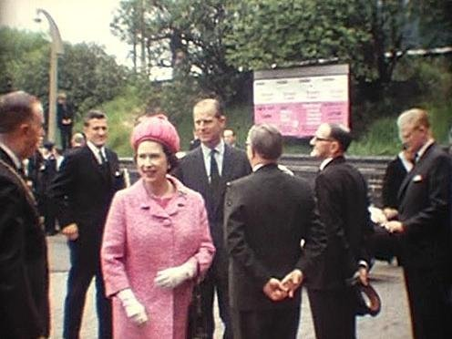 Peter Wilford's photos of the Queen's and Prince Philip's visit to Market Harborough in May 1973.