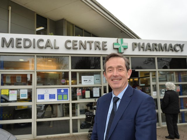 Dr Tom Blake is leaving Market Harborough Medical Centre on Wednesday April 21 – on his 60th birthday.