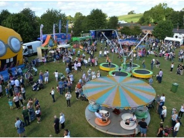 The Lubenham Scarecrow Festival.