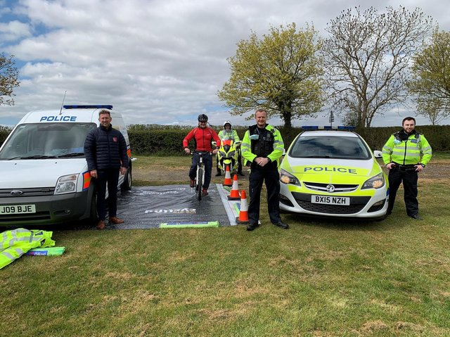 Leicestershire Police Specials Safer Roads Team have carried out a road safety operation in Hallaton.