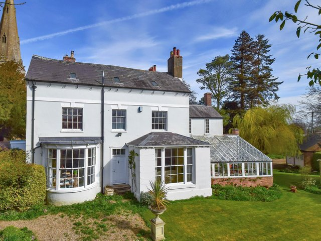 The former home of one of the founders of the Royal Astronomical Society has been brought to the market for the first time in 47 years.