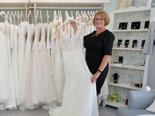 Debbie, who owns Wedding Belles in Kibworth Beauchamp, is now warning people across Harborough to slam the phone down if they are targeted by the highly-convincing crook.