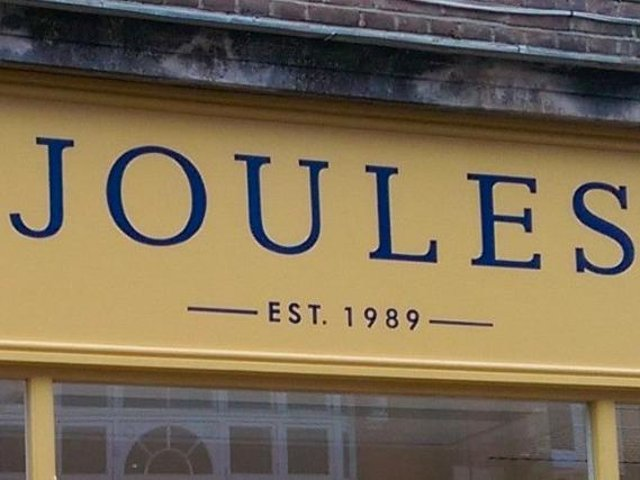 Harborough-based clothes company Joules says booming store sales have topped expectations as the country eases out of lockdown