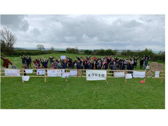 Villagers in Church Langton have made their voices heard in bitter battle to save their beloved green space at the heart of their community.