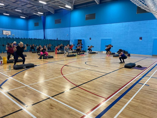 Broughton Astley Leisure Centre has welcomed its members back to group exercise classes this month.