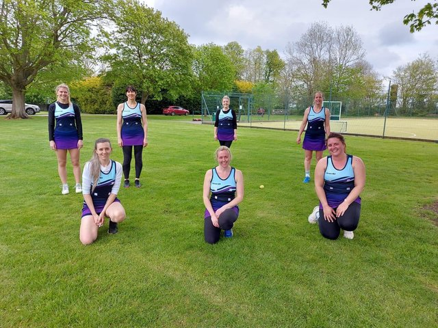 Harborough Harriers line up for the camera