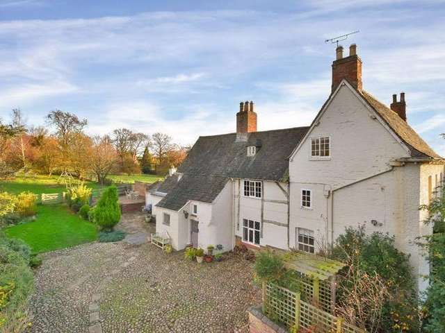 This Jacobean to early Georgian house is a beautiful home set within an equally beautiful Harborough district village.
