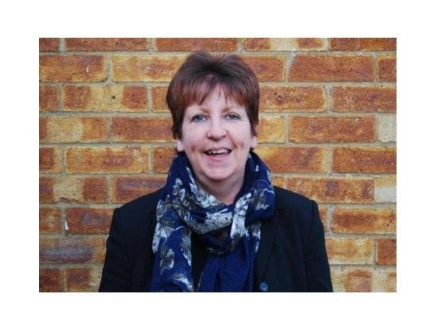Janet Smith, member of the Harborough Baptist Church leadership team and Chair of Churches Together in Harborough.