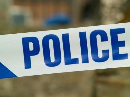 A woman was injured in a three-car crash on the outskirts of Lutterworth yesterday (Tuesday).