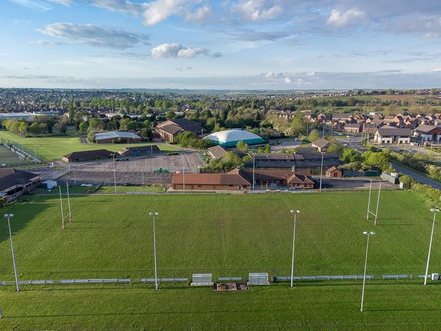 Market Harborough Rugby Club's Northampton Road ground will also become the home of Harborough Athletic Club at the end of next month. Picture courtesy of ©Osborne Photography