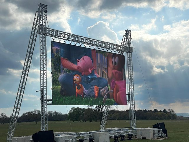 Market Harborough Showground will be hosting an outdoors cinema in Market Harborough this Bank Holiday weekend.