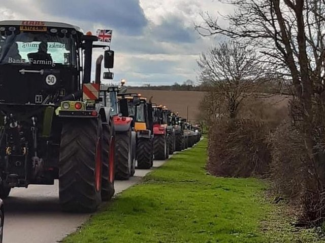 Northampton and District Young Farmers Club are inviting spectators of all ages to get out in the fresh air and enjoy the tractor spectacle on Sunday (May 30).
