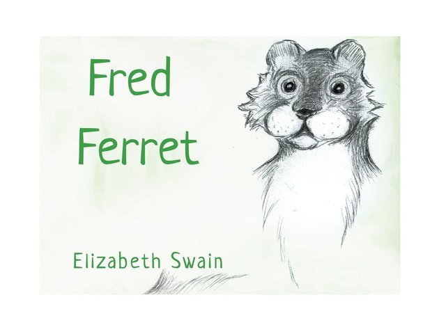 Elizabeth Swain is thrilled to have got her mini-epic Fred Ferret published.