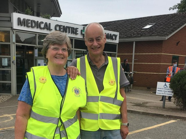 Volunteers from Harborough Twenty 12 Lions have been pulling out all the stops to get behind the local community during the Covid pandemic.