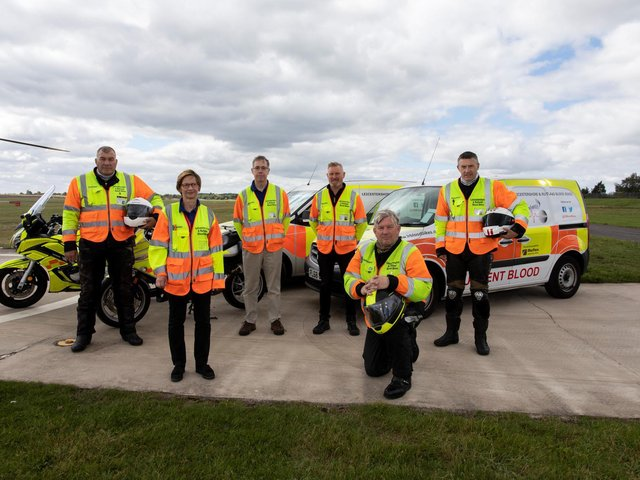 Leicestershire and Rutland Blood Bikes have received the Queen's Award for Voluntary Service - the highest accolade a voluntary group can receive in the UK.