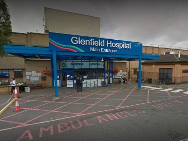 Glenfield Hospital.