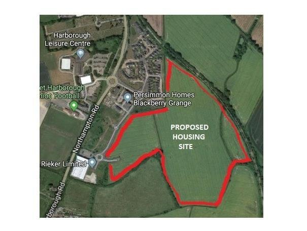 Councillors are expected to get behind the scheme to build 350 homes on a 36-acre parcel of land off Eady Drive, sitting between Northampton Road and Brampton Valley Way.