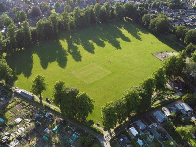 Little Bowden Recreation Ground. Photo by Andrew Carpenter.