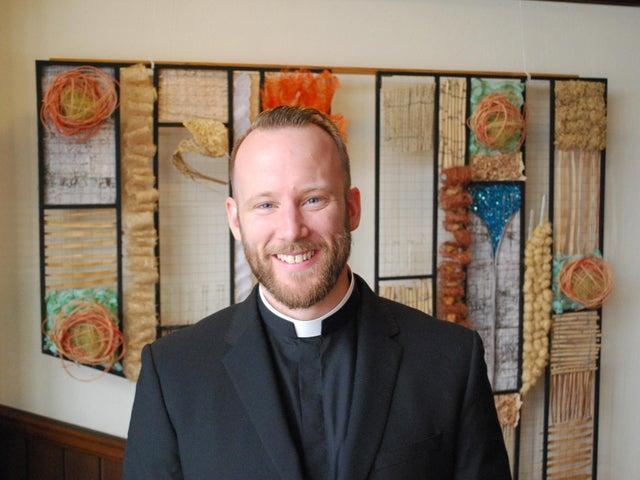 The Revd Christopher Brown, pastor of Market Harborough Baptist Church