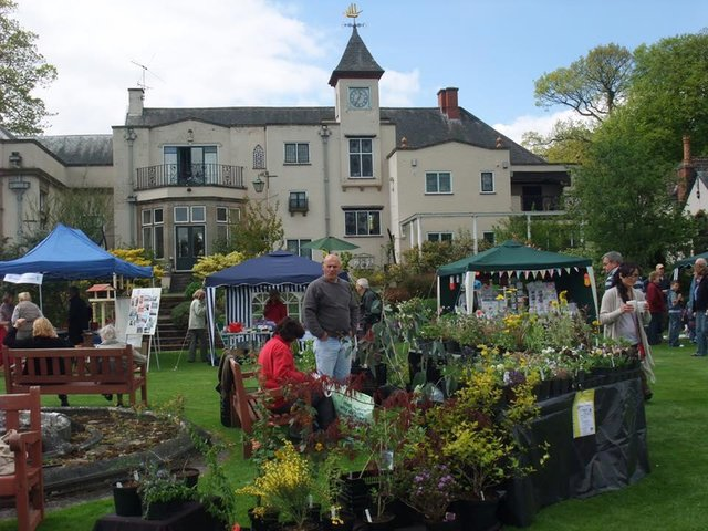 The Plant, Craft and Food Fair at Misterton Hall. Photo by Lutterworth Rotary Club.