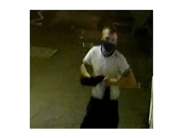 Police want to speak to this man after a late-night spree of criminal damage in Desborough.
