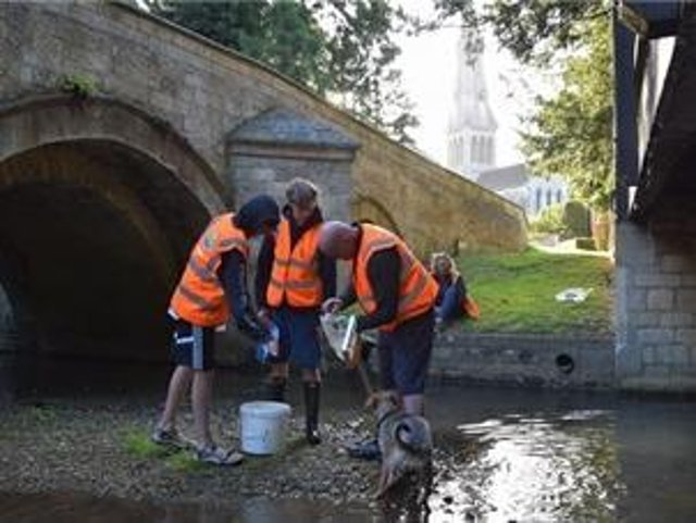 The Welland Rivers Trust has been working to enhance the River Welland.