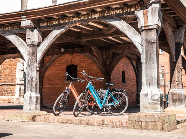 People in Harborough are being offered good deals on electric bikes after the county and city councils have linked up with the Department for Transport.