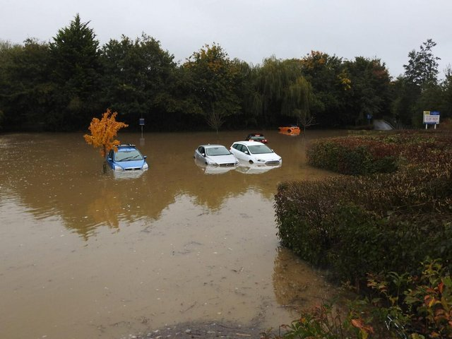 Dozens of commuters have been left furious over the last few years after their cars have been left waterlogged and damaged on the vulnerable Rockingham Road site opposite the railway station.