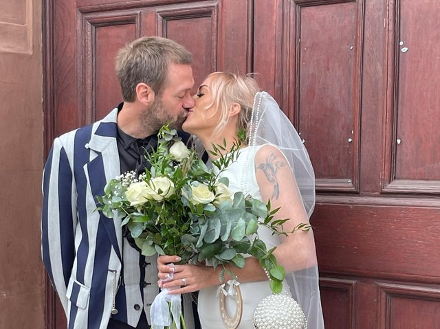 Submitted photo. Tom Meighan and Vikki Ager.